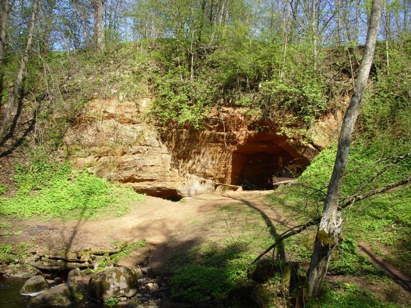 фото Трутневской пещеры