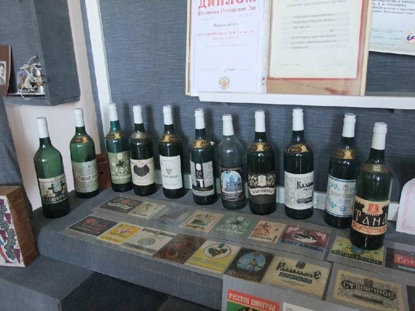 фото в Музее виноградарства и виноделия