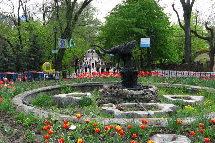 фото в парке Горького
