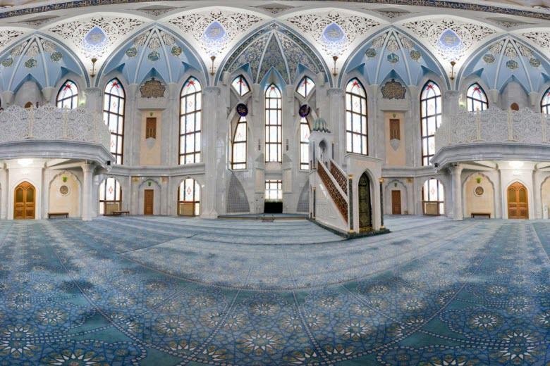 фото внутри Голубой мечети