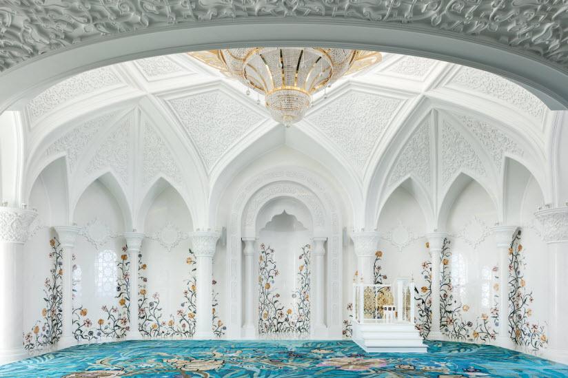 фото внутри мечети Ирек