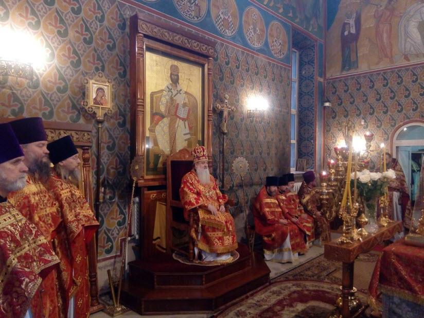 фото внутри Никольского храма