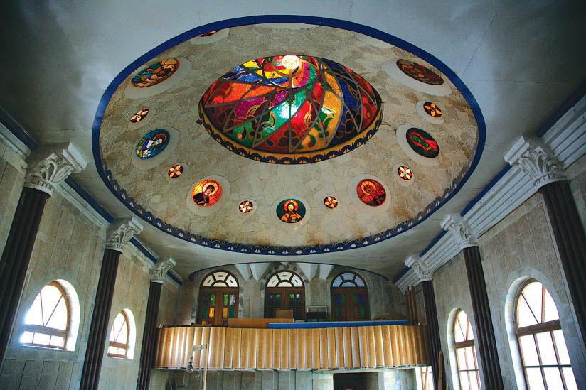 купол христианского зала