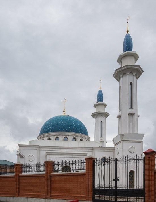 минареты мечети Ирек