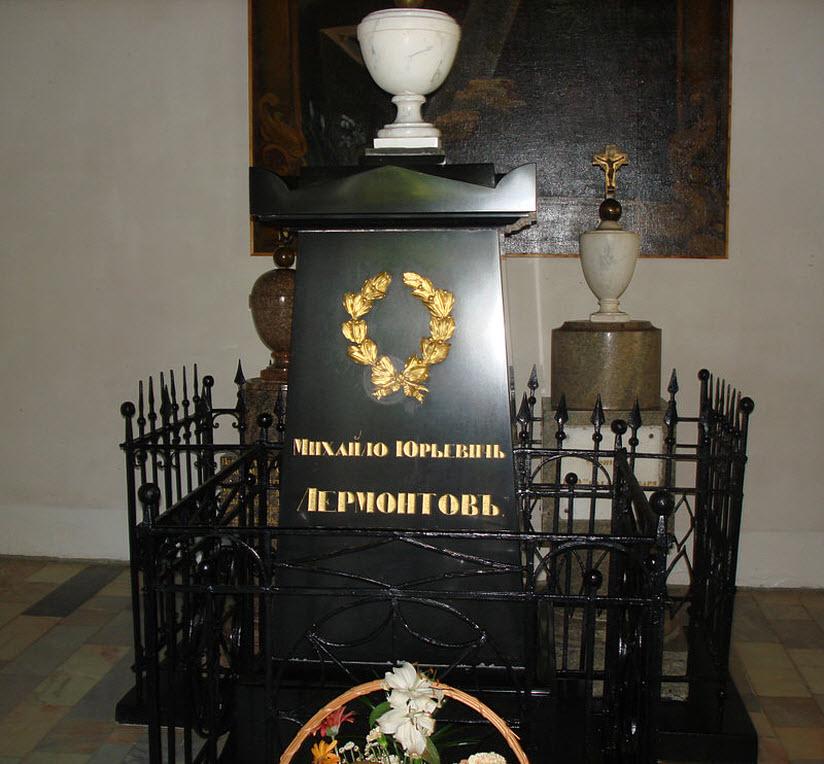 могила лермонтова в тарханах