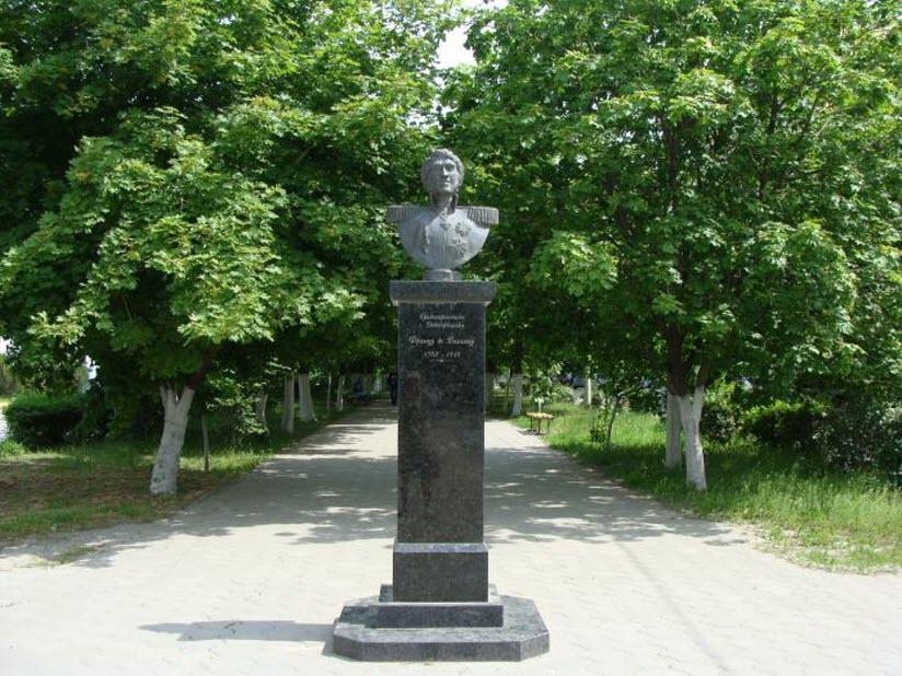 Памятник Францу Деволану