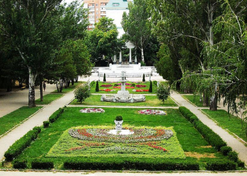парк Горького в Ростове-на-Дону