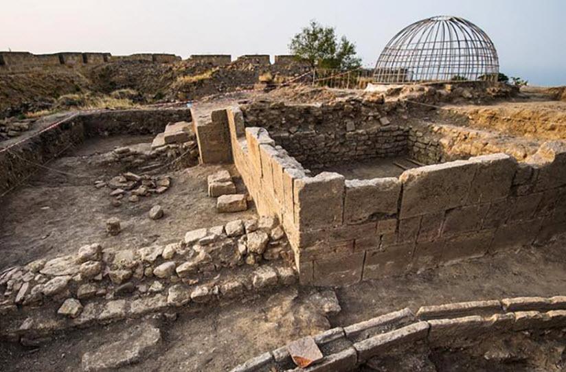 раскопки крепости