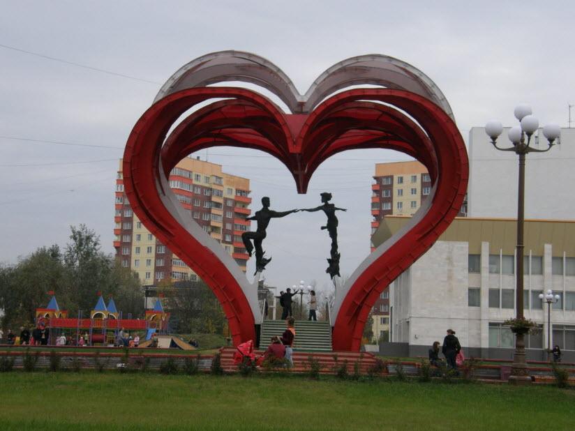 Сердца влюбленных