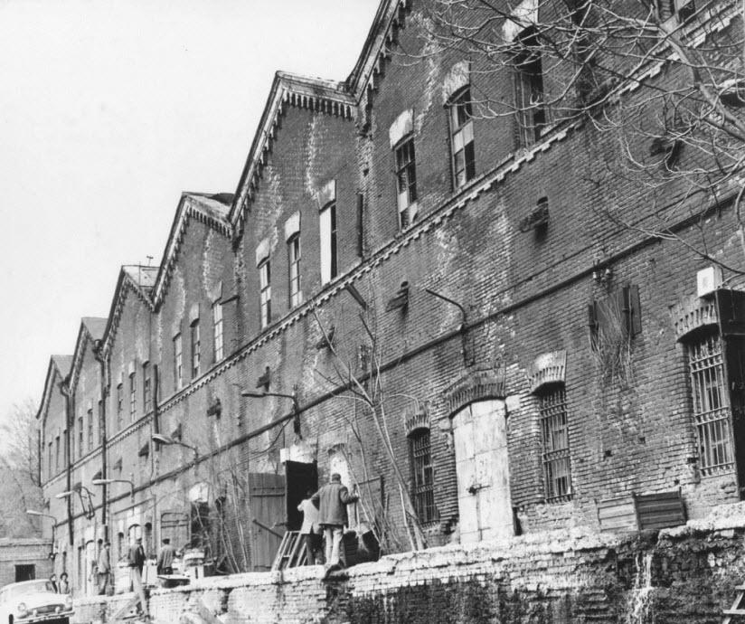 старые фото Парамоновских складов