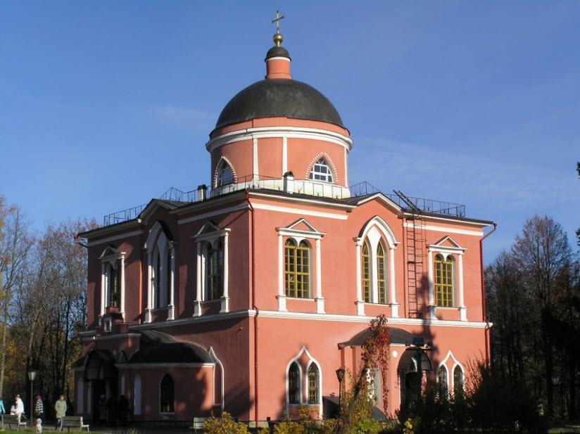 Церковь Николая Чудотворца в Ржавках