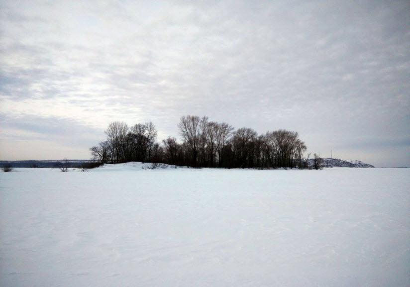 зима на острове Маркиз