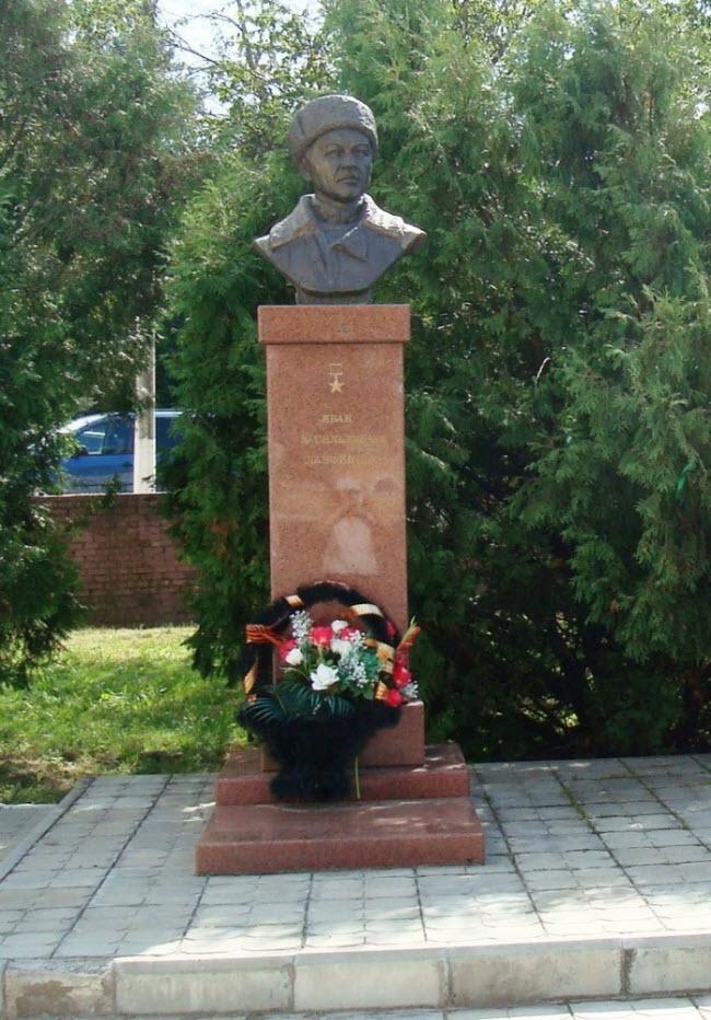 Бюст Панфилова