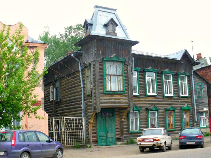 Деревянный дом Серепьевых