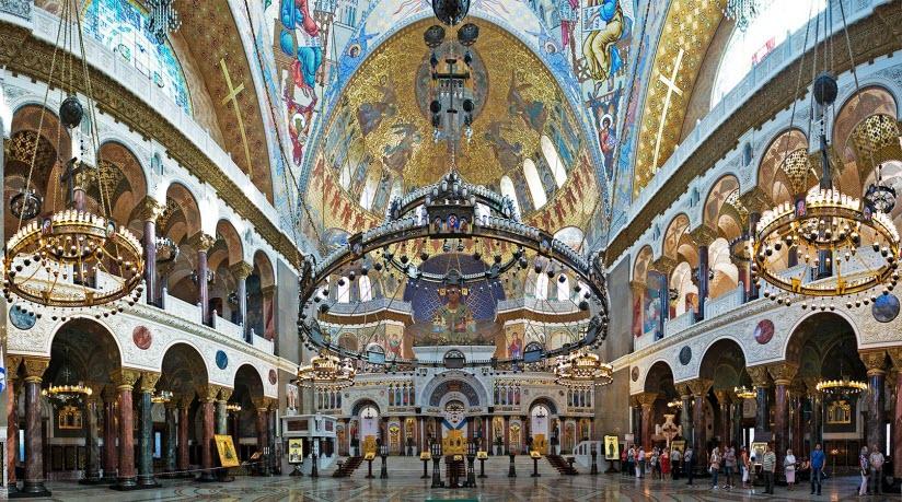 фото внутри собора Святого Николая