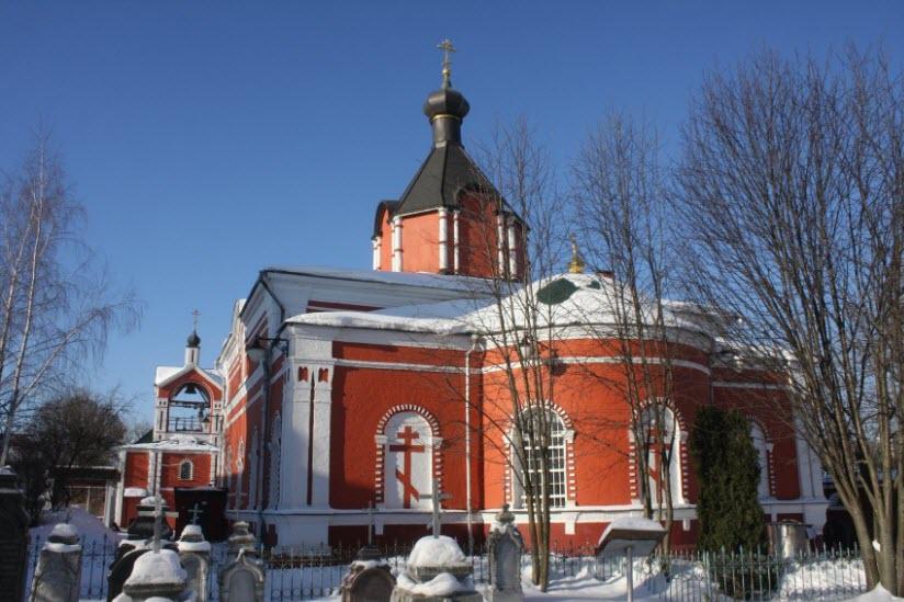 Храм Боголюбской иконы Богоматери