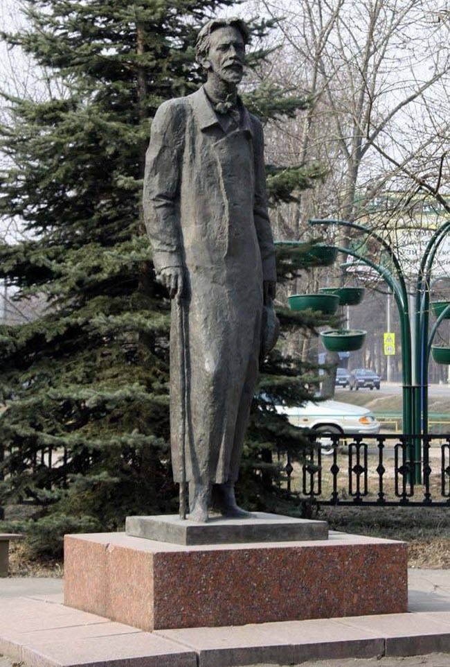 Памятник Чехову