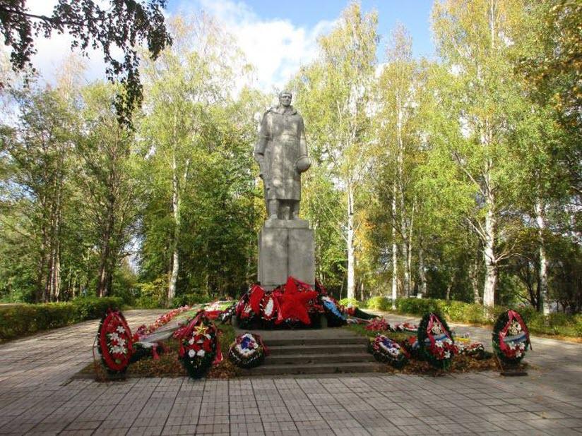 Памятник «Скорбящий солдат»