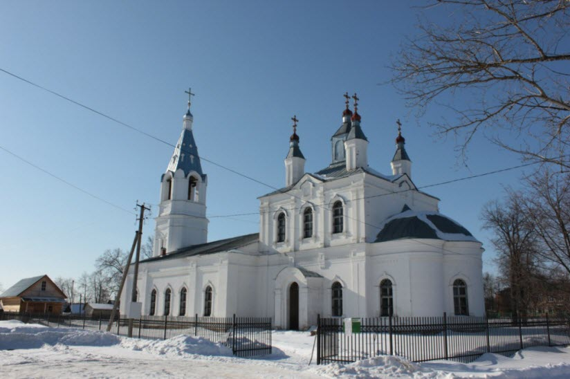 Предтеченский храм в Раменье
