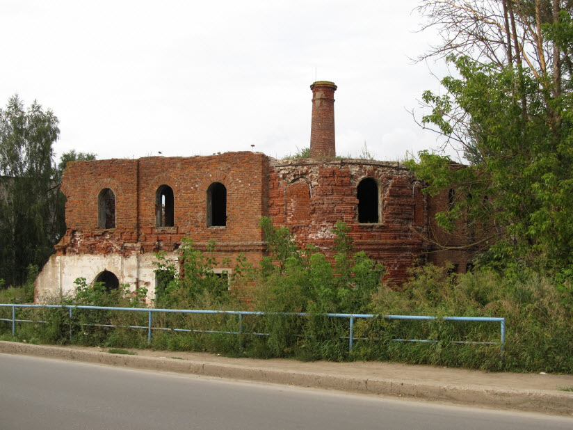 Руины городской бани