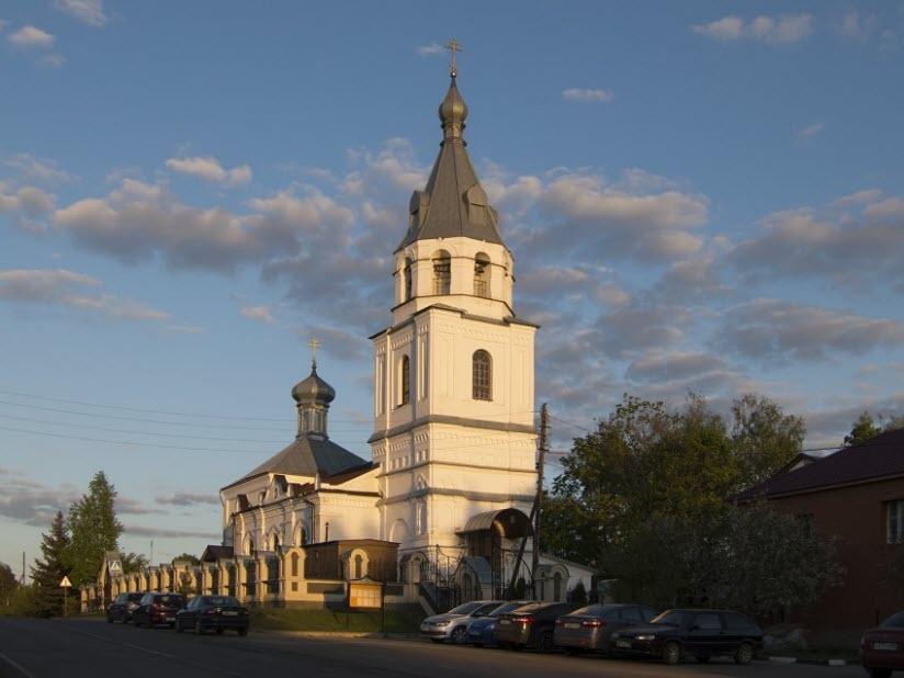 Церковь Николая Чудотворца в Николо-Крутинах