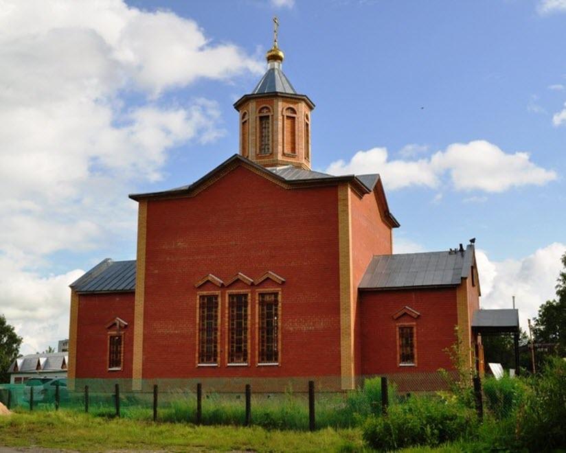 Церковь Серафима Саровского в Сосенском