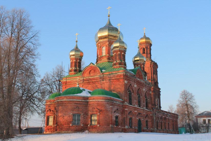 Церковь Всех Святых в Ивановском