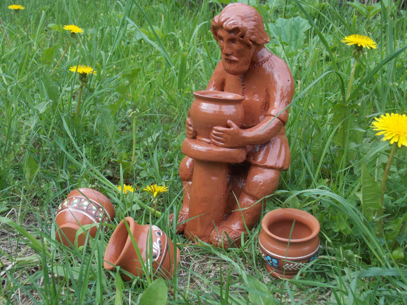 Выставка оятской керамики