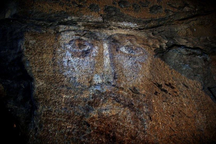 Фреска «Лик Христа»