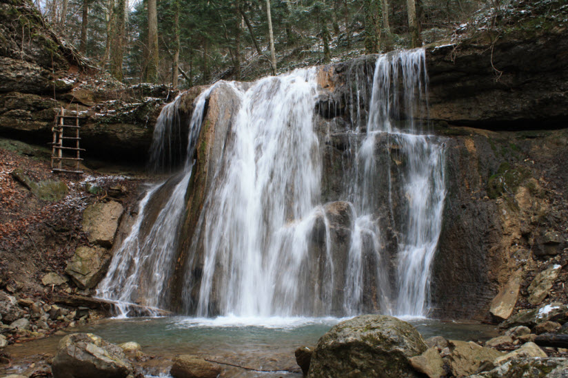 Каверзинский водопад