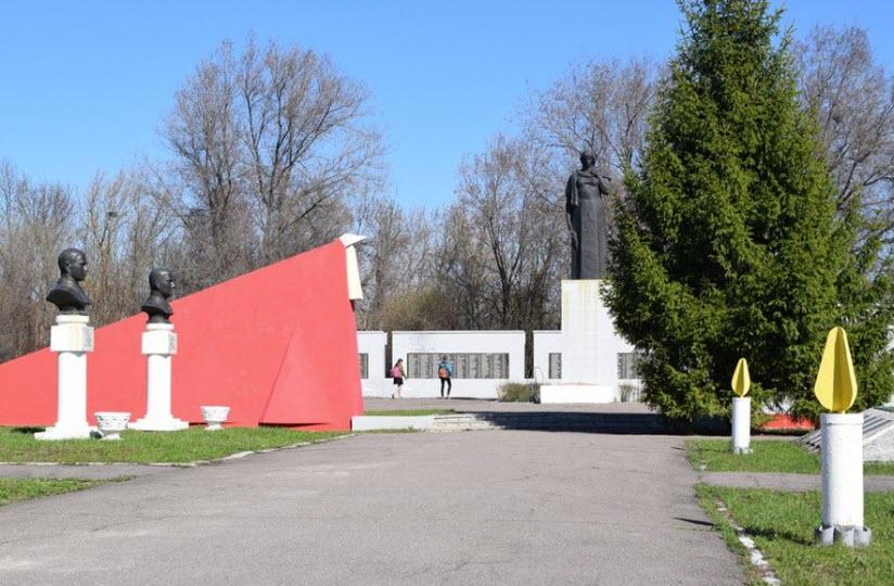 Мемориальный комплекс, посвященный годам ВОВ
