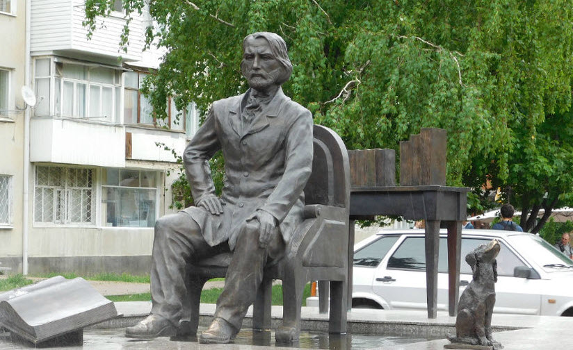 Памятник И. Тургеневу