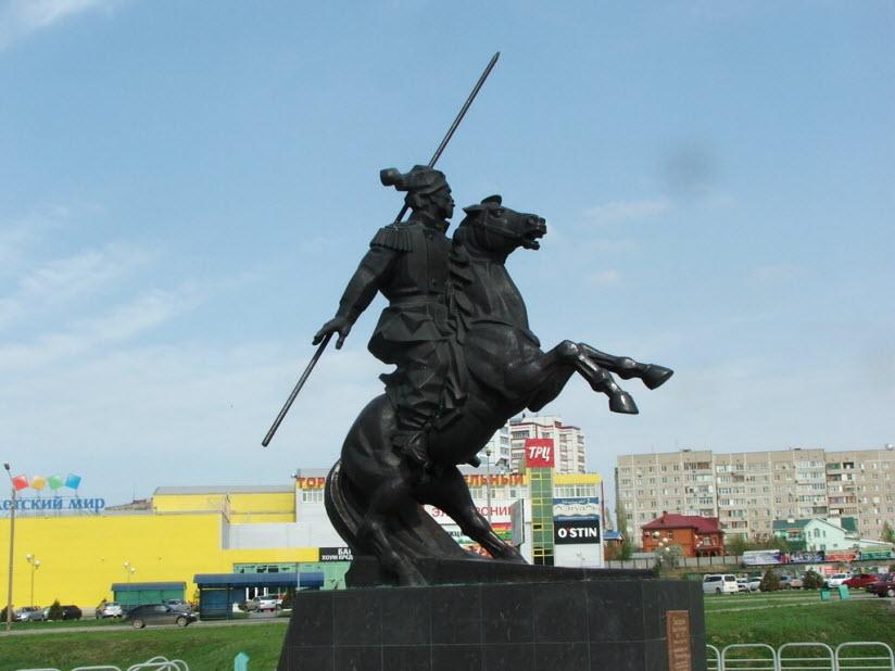 Памятник Я.П. Бакланову