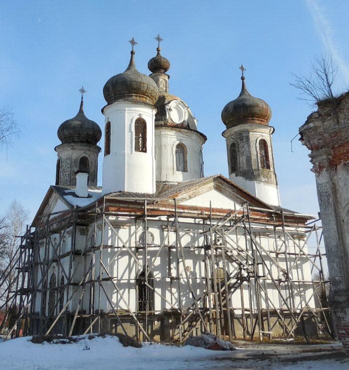 Преображенский храм в Спасс-Косицах