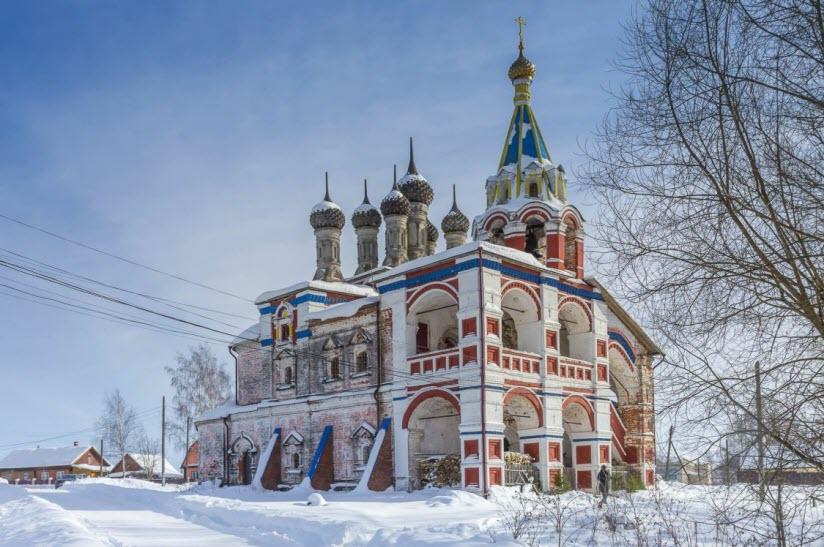 Троицкая церковь в с. Подолец