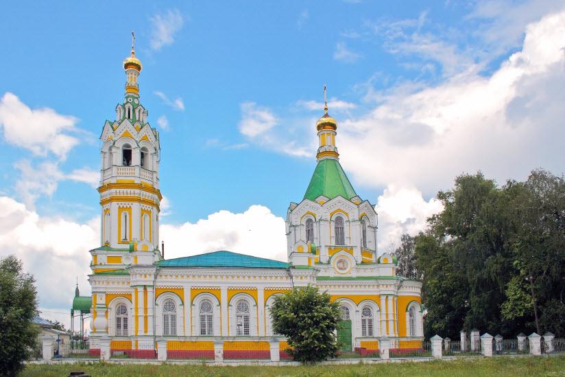 Церковь Тихвинской иконы Божьей Матери