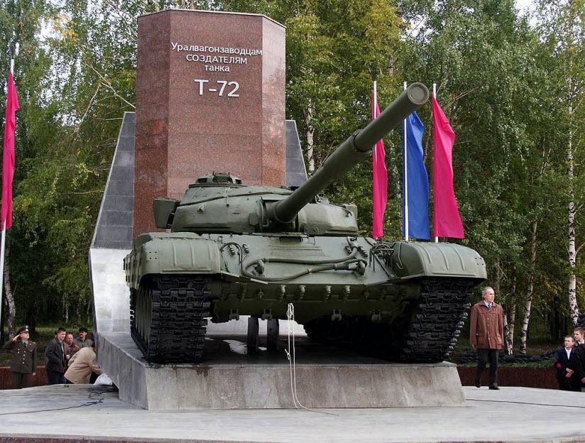 Уралвагонзаводцам-создателям танка Т-72