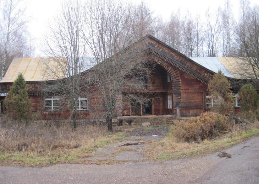 Заброшенный пионерский лагерь «Ясная Горка»