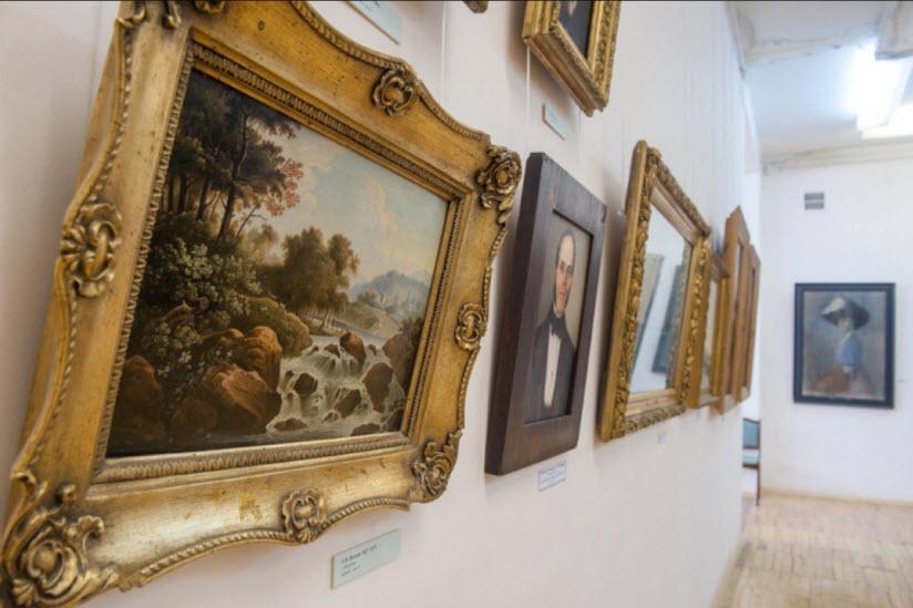 Картинная галерея в Тарусе