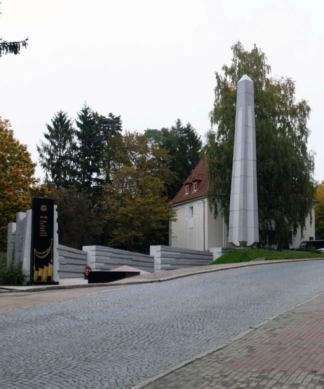 Мемориальный комплекс на братской могиле