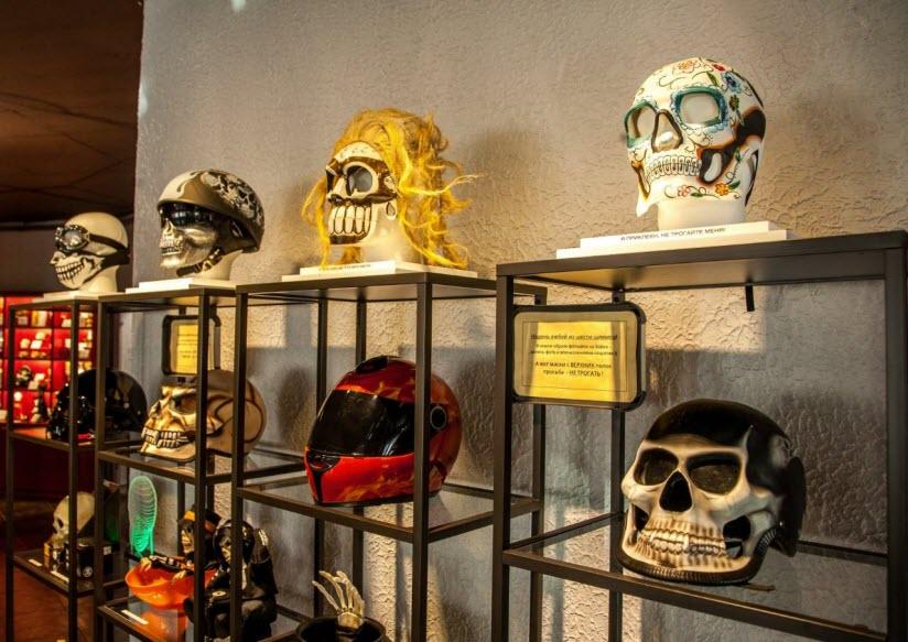 Музей черепов и скелетов