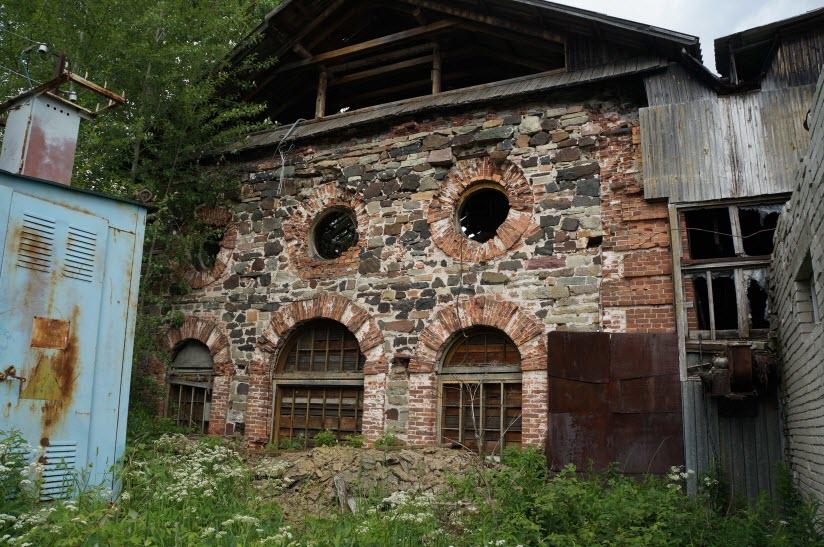 Остатки Кончезерского металлургического завода