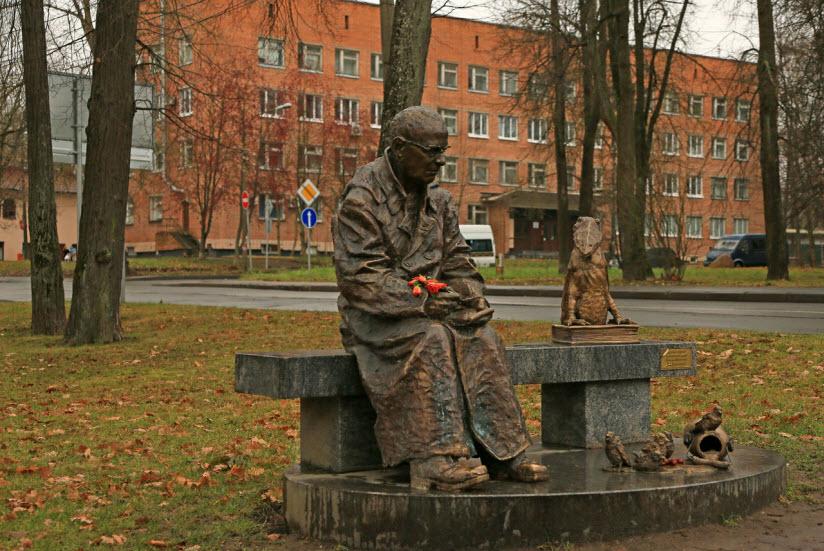 Памятник Н.В. Шадрунову