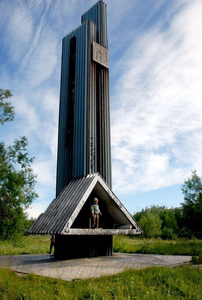 памятник В честь первостроителей Воркуты