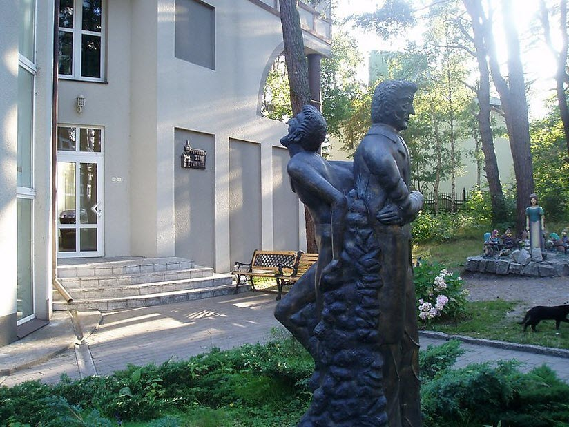 сквер скульптур