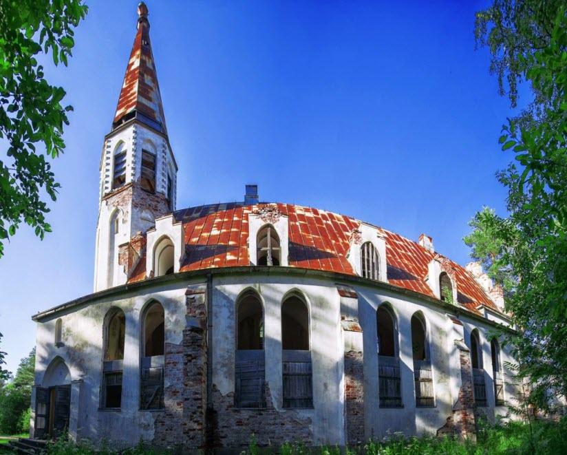 Церковь Лумиваара