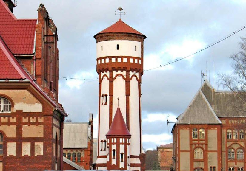 Водонапорная башня Пехотных казарм