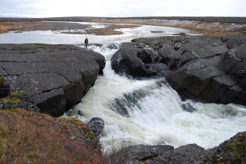 Водопад Хальмер-Ю