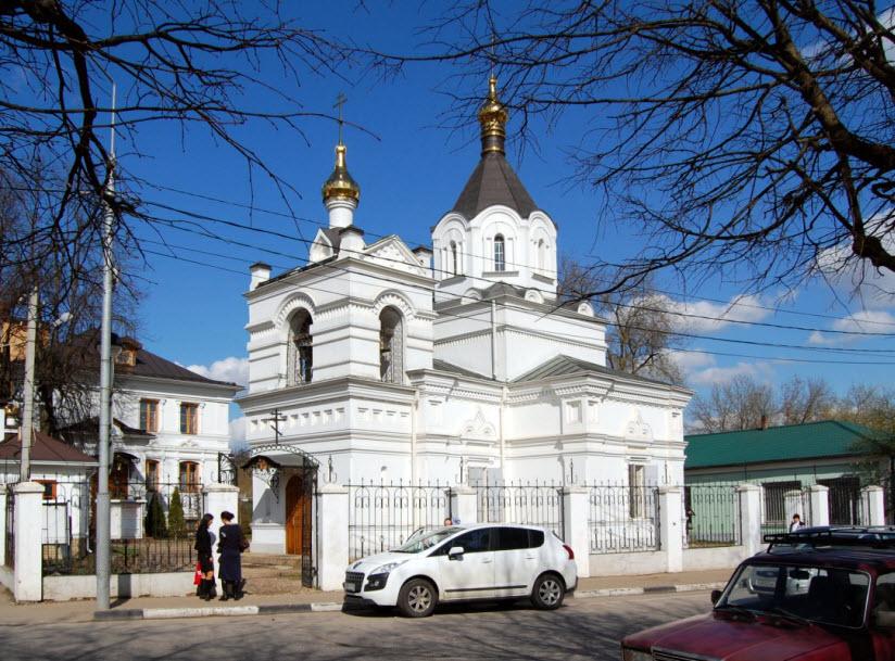 Александро-Невский храм в Звенигороде