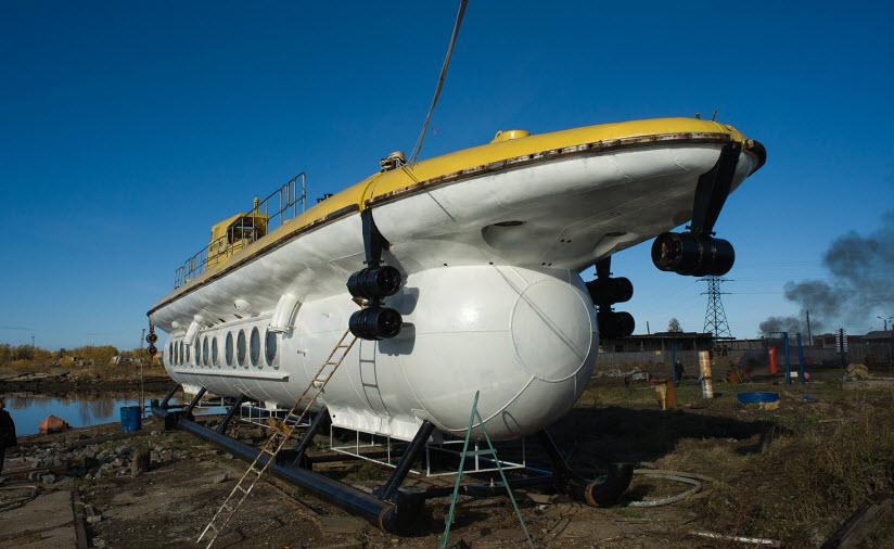 Экскурсионный подводный аппарат «Нептун»